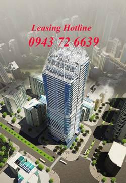 Cho thuê văn phòng cao cấp tòa nhà Diamond Flower Hoàng Đạo Thúy, Trung Hòa, Thanh Xuân, Hà Nội.