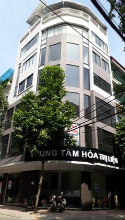Cho thuê tòa nhà 55 phố Đỗ Quang- Phường Trung Hòa-  Quận Cầu Giấy - Hà Nội.