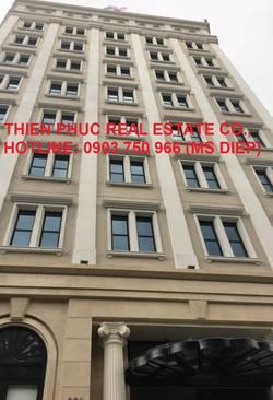 Cho thuê VP tòa nhà mới Hoàng Văn Thụ,TB, 100-150-200m2, giá 400.000đ/m2 bao thuế phí.