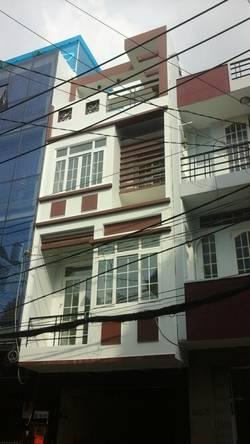 Nhà mới nguyên căn rất đẹp, 1 trệt, 1 lửng, 3 lầu, 10PN, 10NVS