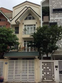 Cho thuê nhà mặt phố trung yên 7 diện tích 108 m2 x 5 tầng , oto đỗ cửa