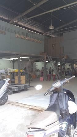 Cho thuê kho tại Quận 4 đường Hoàng Diệu, DTSD 600m  giá rẻ 36tr/th.
