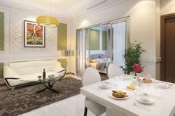 3.75tỷ Bàn ghế, Bếp, Tivi, Giường, tủ, đầy đủ cho căn 2PN DT76m2, khu dân cư Vinhomes Central Park