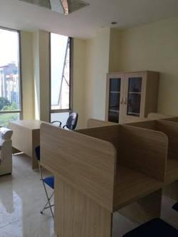Văn phòng giá rẻ tại phố Thọ Tháp Trần Thái Tông, đầy đủ đồ chỉ việc đến sử dụng
