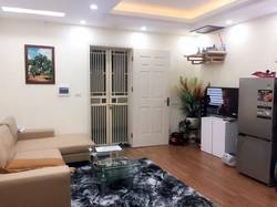 Cho thuê căn hộ 335 cầu giấy, 91 m2 chia thành 2 ngủ, full nội thất.