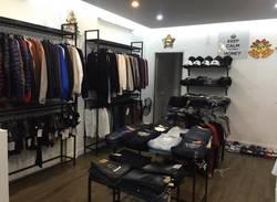 Cần sang shop thời trang nam xuất khẩu