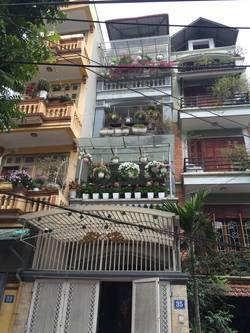 Cho thuê nhà ngõ 158 Nguyễn Khánh Toàn   Có gara riêng   Nội thất đầy đủ.