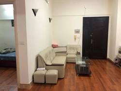 Cho thuê căn hộ tầng 5 diện tích 82 m2 chia 2 ngủ ở lạc hồng, tây hồ,hn.