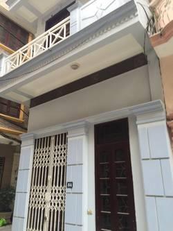 Cho thuê nhà 4 tầng x 30m2 ngõ 49 Hoàng Hoa Thám, ba đình,hn.