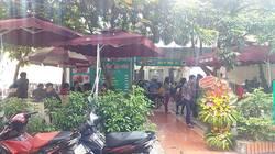 Cửa hàng cơm tự chọn nằm trong khuôn viên trường Đại Học Quốc Gia 144 Xuân Thuỷ