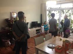 Cho thuê CHCC Tản Đà ,Quận 5, Diện tích: 100 m2, 3 PN, 2 wc