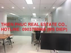 Cho thuê văn phòng đủ nội thất Tòa nhà Nguyễn Cư Trinh,Q.1, 42m2, 20 triệu/tháng bao thuế phí