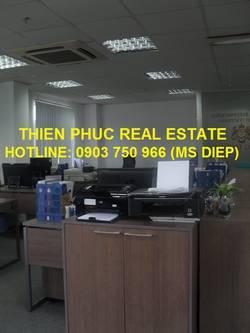 Cho thuê văn phòng đẹp MT Trần Hưng Đạo, Q1, 27-40m2, 13 triệu/tháng bao thuế phí điện lạnh