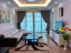 Cho thuê căn hộ chung cư Royal City 3 ngủ đủ nội thất đẹp  ảnh thật sang trọng lịch lãm