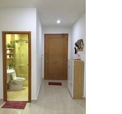 Cho thuê căn hộ Ecolife Tây Hồ 88m2 chia 2 ngủ sàn gỗ