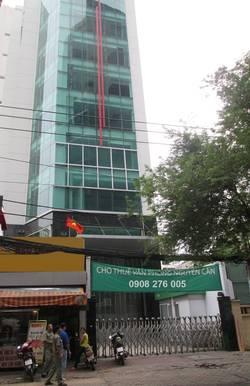 Tòa cao ốc cho thuê MT Nguyễn Văn Trỗi, Phú Nhuận  DT: 10x20m, Hầm, trệt, 8 lầu, ST, TM.