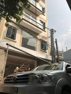 Nhà ngõ 106 Hoàng Quốc Việt 60m x 5,5T, full nội thất, ngõ ô tô tránh nhau