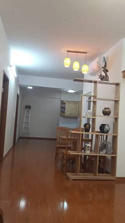 Cho thuê chung cư học viện quốc phòng nhà đẹp đủ đồ 90 m2 3 ngủ