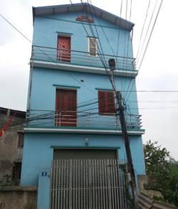 Cho thuê nhà 3 tầng mới xây- đường Tân Quang- phường Gia Sàng- TP Thái Nguyên