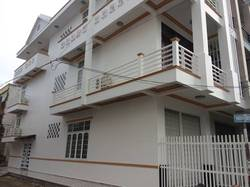 Nhà mới cho thuê ngay góc khu dân cư 91B có máy lạnh 12 triệu  Miễn trung gian