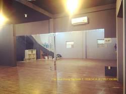 Quận 3  Cho thuê phòng Tập Dance, Yoga Mặt tiền đường 12 Vườn Chuối