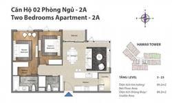 Đảo Kim Cương Quận 2, cho thuê căn 2pn nội thất cao cấp