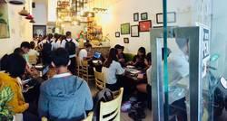 Sang nhượng quán trà sữa đông khách ĐƯỜNG LÊ LỢI, GÒ VẤP  gần Đại Học Công Nghiệp