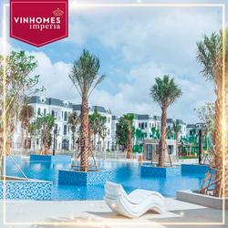 Cho thuê biệt thự SL mặt đường 21m khu đô thị VinhomesImperia, Hồng Bàng, Hải Phòng.