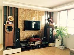 Cho thuê căn hộ 60B Nguyễn Huy Tưởng, 2PN, full đồ 75m2, giá chỉ 13 triệu/tháng.
