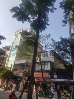Cho thuê nhà mặt phố Lạc Trung DT 70m2 x 4t, MT 4m