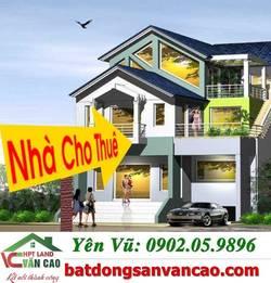 Cho thuê nhà trong ngõ Cột Còi