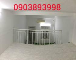 Phòng gác lửng rộng rãi không đựng đầu, ban công, bếp, wc riêng tại 457/29 Huỳnh Tấn Phát Q7