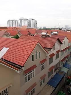 Cho thuê CHCC Hồng Lĩnh Plaza , H.Bình Chánh, Diện tích : 83 m2, 2PN , 2wc . có nội thất