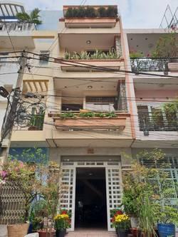 Cho thuê nhà HXH Lũy Bán Bích, quận Tân phú, full nội thất, giá rẻ