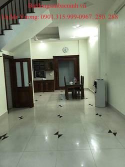 Cho thuê nhà 4 tầng Lý Nhân Tông, khu Hud , TP.Bắc Ninh gồm 5 phòng ngủ