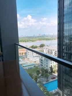 Cho thuê gấp căn hộ Vinhomes Bason, Block Aqua1, lầu 10, Q.1, 80m2, 2 phòng ngủ, 2wc, nội thất