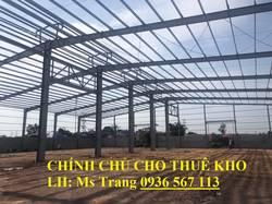 Chính chủ cho thuê 3000m kho tiêu chuẩn tại cụm công nghiệp cảng Đa Phúc,Phổ Yên, Thái Nguyên