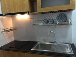 Cần cho thuê căn hộ Sao Mai Quận 5, DT 86m2, 2pn, 2wc, tầng cao, thoáng mát, nội thất cơ bản