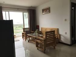 Cần cho thuê căn hộ The Mansion đường Nguyễn Văn Linh, DT 83m2, 2 phòng ngủ, 2 toilet, lầu cao thoán