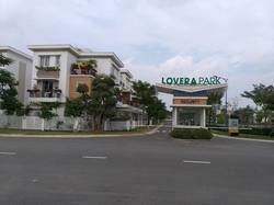 Cho thuê nhà 1 trệt 2 lầu và Sân thượng tại khu nhà phố Lovera Park . KDC Phong Phú 4 . B.Chánh
