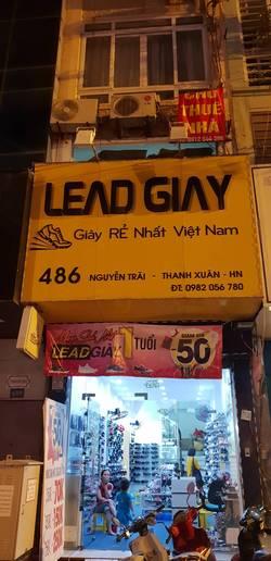 Cho thuê nhà mặt phố Nguyễn trãi, gần ngã tư Khuất duy tiến