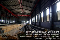Chuyển nhượng Khu văn Phòng Làm việc, Nhà kho tại Đà Nẵng
