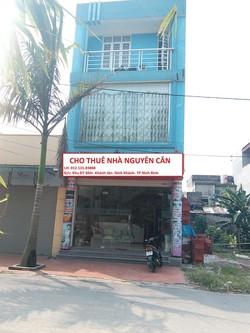 Cho thuê nhà nguyên căn Khánh Tân, Ninh Khánh, Ninh bình