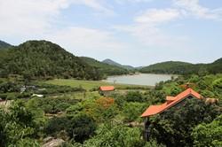 Bán 2.200m đất Nghỉ dưỡng mặt Hồ Sóc sơn mặt đường 35