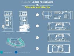 Nhà liền kề Lotus Residences giá hấp dẫn, kèm nhiều ưu đãi lớn