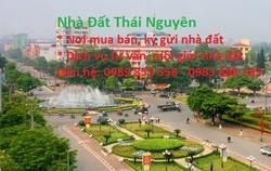 Bán nhà đất tại thành phố Thái Nguyên