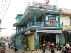 Cho thuê nhà nguyên căn vị trí đẹp trung tâm Thị trấn Hà Lam