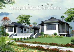 750tr /300m2 Bungalow trong Resort Family Green