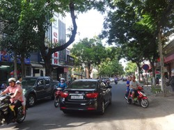 Cho thuê mặt bằng đường Phan Đăng Lưu, 40m2, gần ngã 4 Lê Thanh Nghị