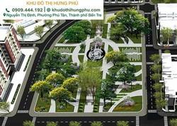 Khu đô thị Hưng Phú Bến Tre- Bán đất nền giá tốt.